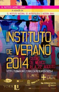 Summer Institute 2014 Spanish poster