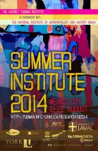 Summer Institute 2014 Poster
