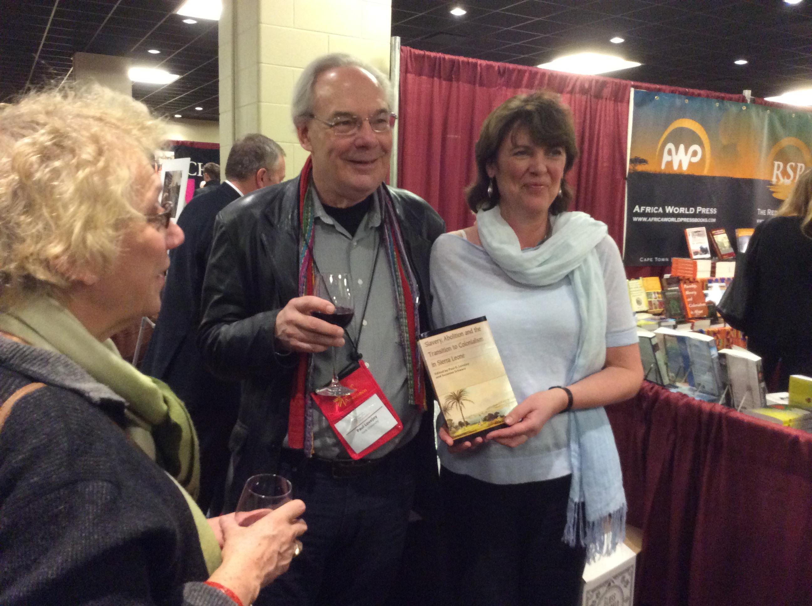 Schwarz Lovejoy book launch