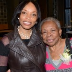 Dr. Andrea Davis and her mother Magetta Webb